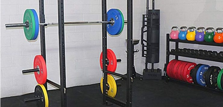 TITAN FITNESS T-3 Series Power Rack Squat Deadlift Cage Pull Up