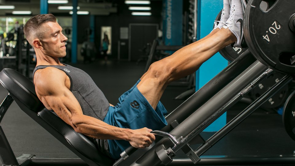 Muscles Exercised by a Leg Press Machine
